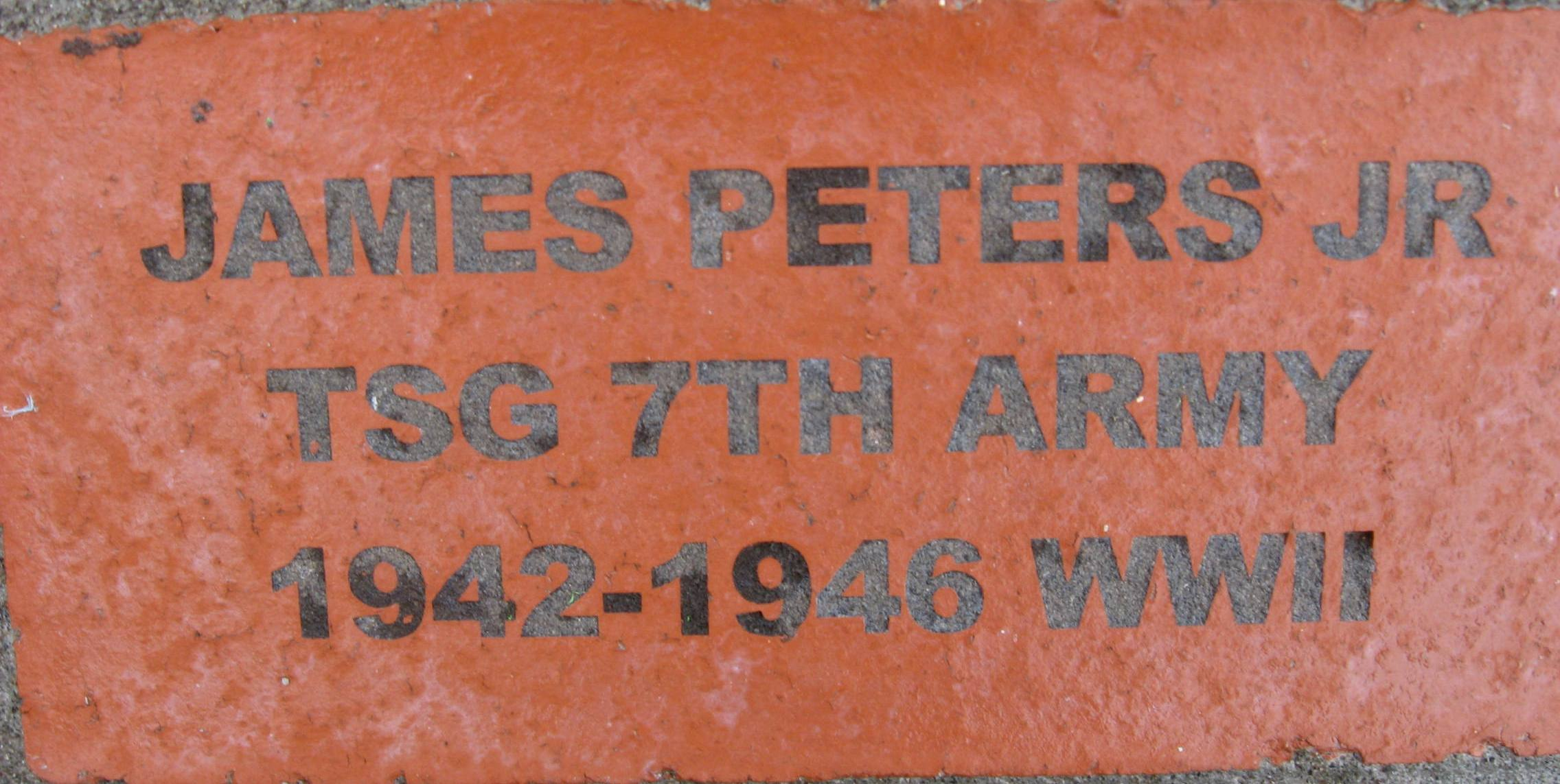 Peters Jr James