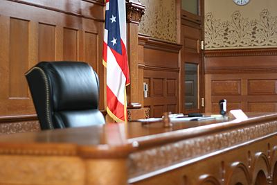 Municipal Court Bench